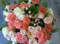 Bouquet Roses anciennes